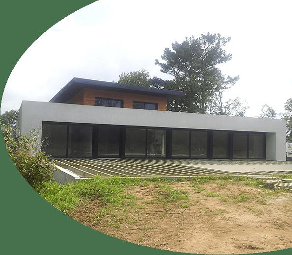 Maison en cours de construction